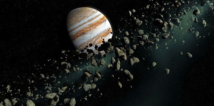 Jupiter love asteroids!