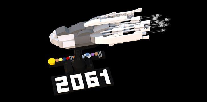 Halley's Comet returns in 2061