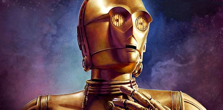 C-3PO is actually now fluent in over seven million forms of communication!