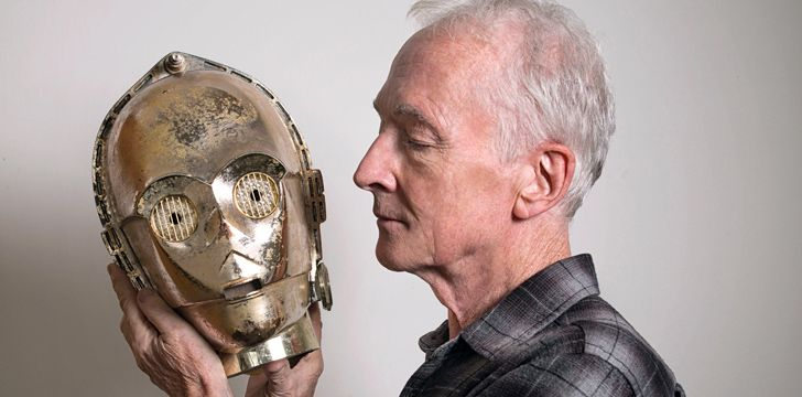 Anthony Daniels didn't originally want to play C-3PO.