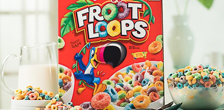 Froot Loops to start the day