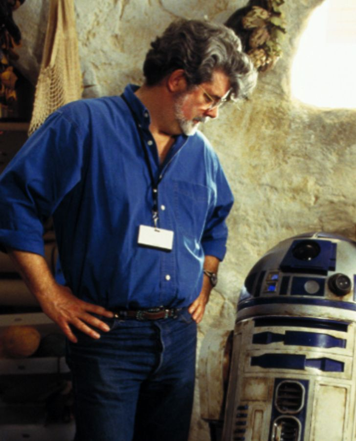 R2-D2 is George Lucas' favorite character.