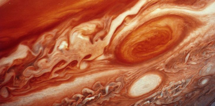 Jupiter's Red Spot is Shrinking - 100 Space Facts