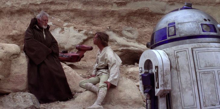 Obi Wan remembered R2-D2 in A New Hope.