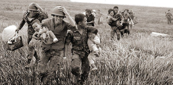 The Vietnam War started in a bid to unite the country.