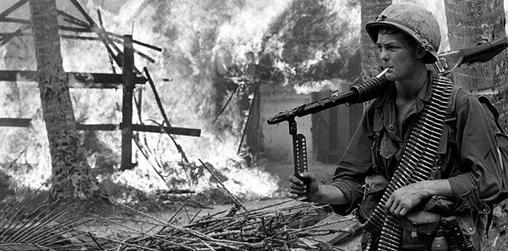 The Vietnam War left a legacy of unexploded bombs.