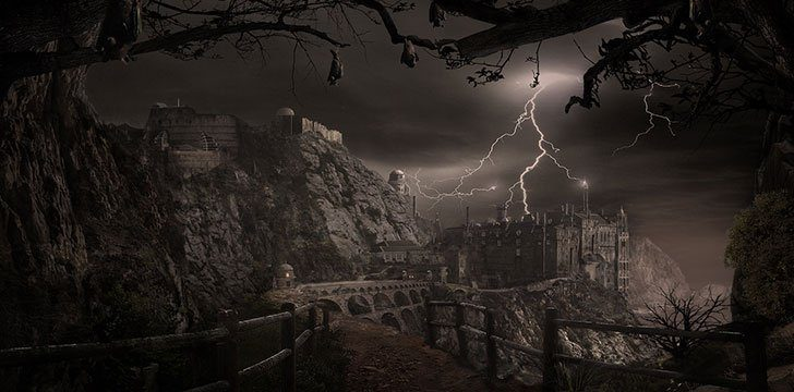 "In the Frankenstein Castle, Paranormal investigators heard voices that sounded like ""Arbo is here."""
