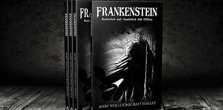 The full name of the book is Frankenstein; or, The Modern Prometheus