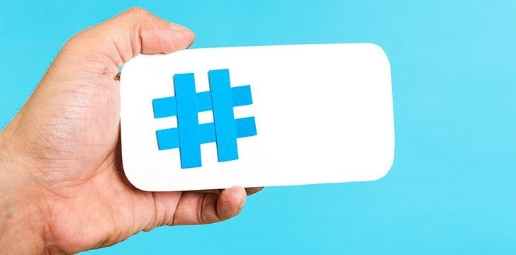 The hashtag was first introduced in 2007.