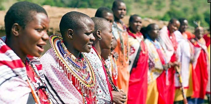 Kenya is home to the Maasai people.