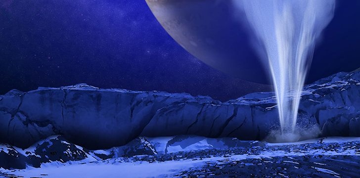 Triton has geysers erupt nitrogen into the atmosphere.