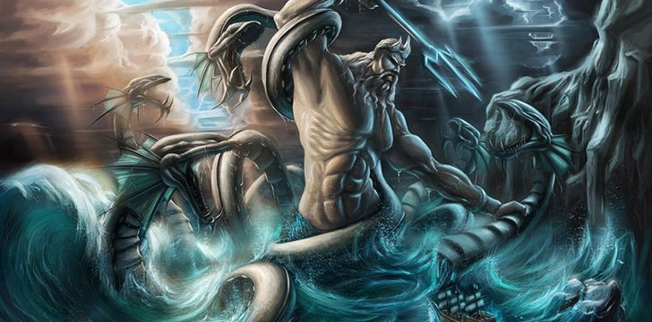 Triton was named after a sea god from Greek mythology.