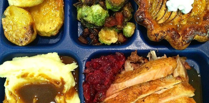 TV dinners were born from a Thanksgiving accident.