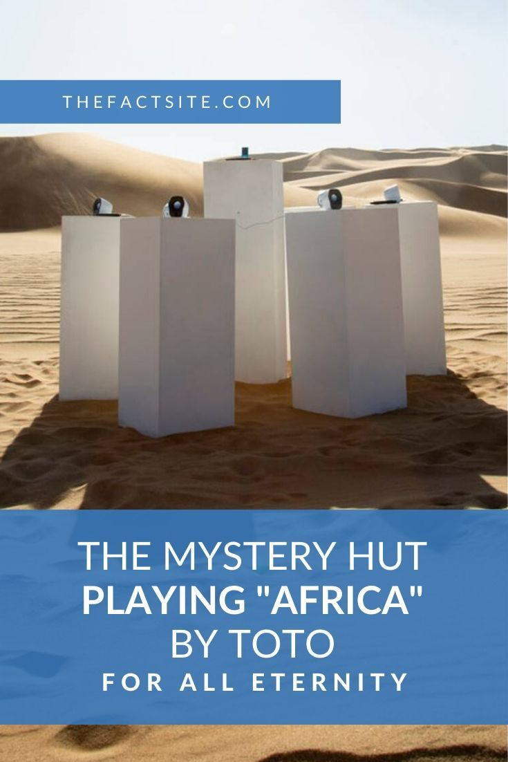 """The Mystery Hut Playing """"Africa"""" by Toto For All Eternity"""