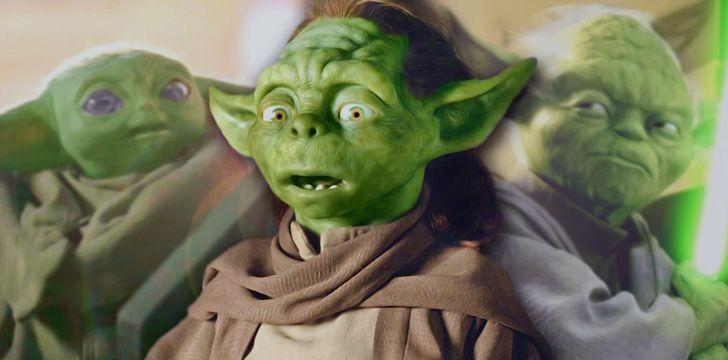 Baby Yoda, Yoda & Yaddle