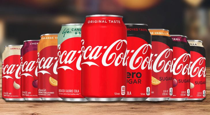 There are at least 16 different flavors of Coca-Cola.