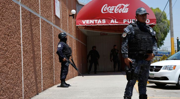 The Police don't actually use Coca-Cola to clean blood from crime scenes.