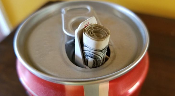 Coke had a campaign where it filled their cans with gross concoctions.