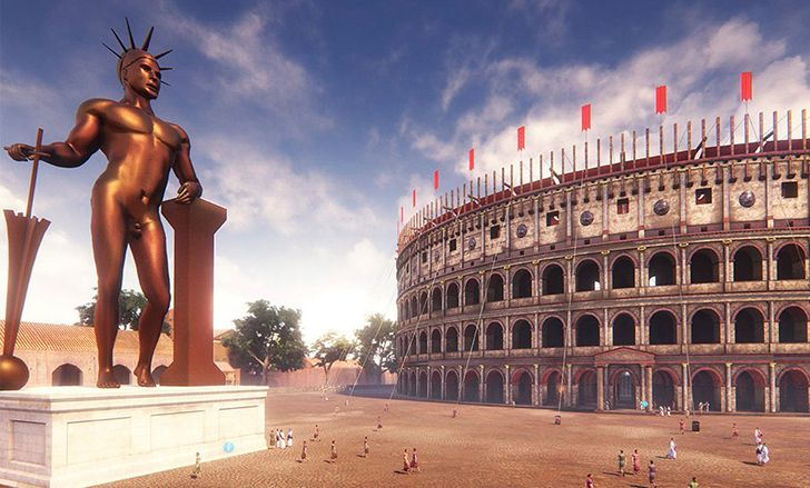 It was only called the Colosseum because it was next to a statue called the Colossus.
