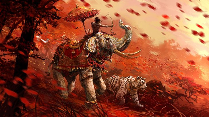 In Ancient Asia, death by elephant was a popular form of execution.