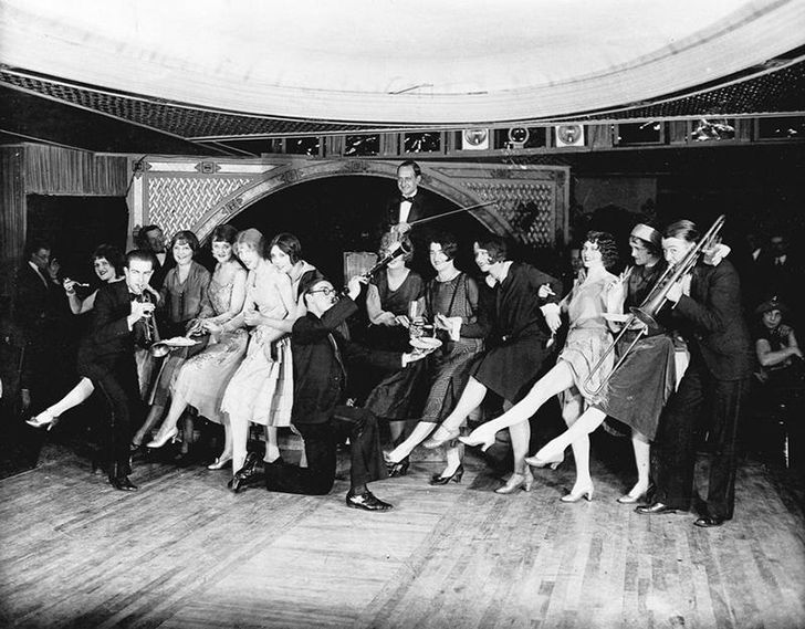 "There were ""dance marathons"" during the Great Depression."