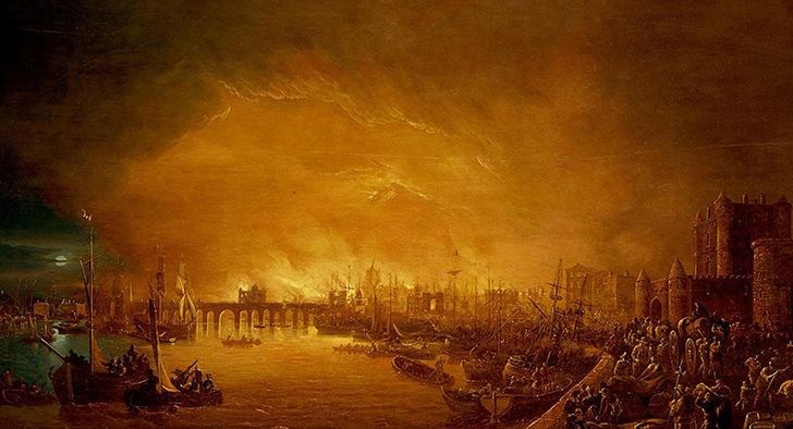 Only 6 people died in the Great Fire of London.