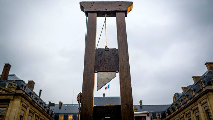 "The guillotine was invented to create ""equality in execution""."