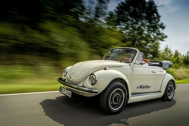 Adolf Hitler helped design the Volkswagen Beetle.