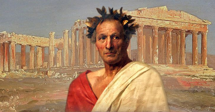 Julius Caesar was stabbed 23 times.