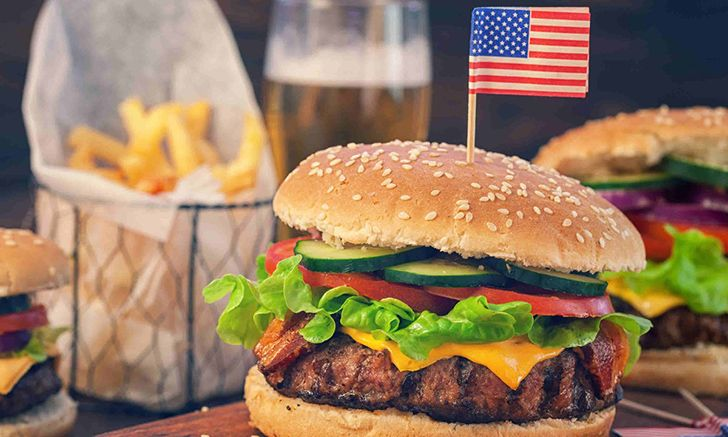 "During World War II, Americans called hamburgers ""liberty steaks""."