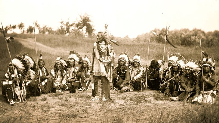 In 1710, Native American leaders travelled to Britain to visit the Queen.