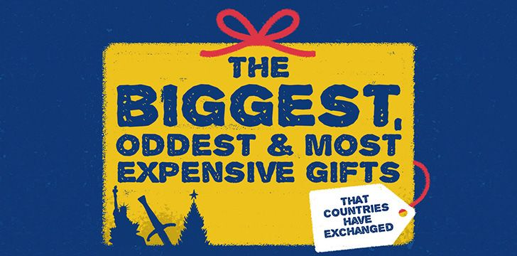 The Biggest , Oddest & Most Expensive Gifts That Countries Have Exchanged
