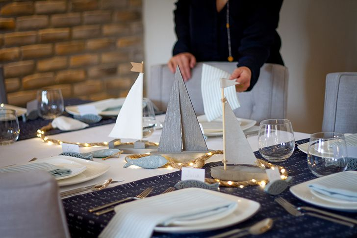 Tablecloths were originally designed to be used as one big, communal napkin.