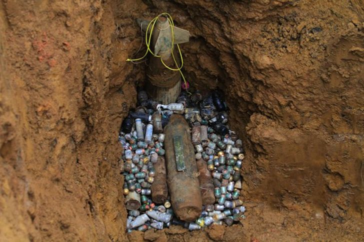 Since the end of WWI, over 1,000 people have died from leftover unexploded bombs.