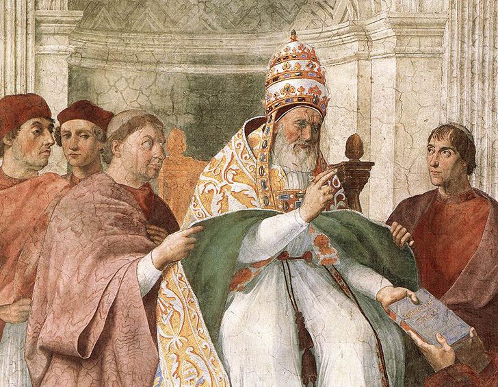 Pope Gregory IX declared war on cats.