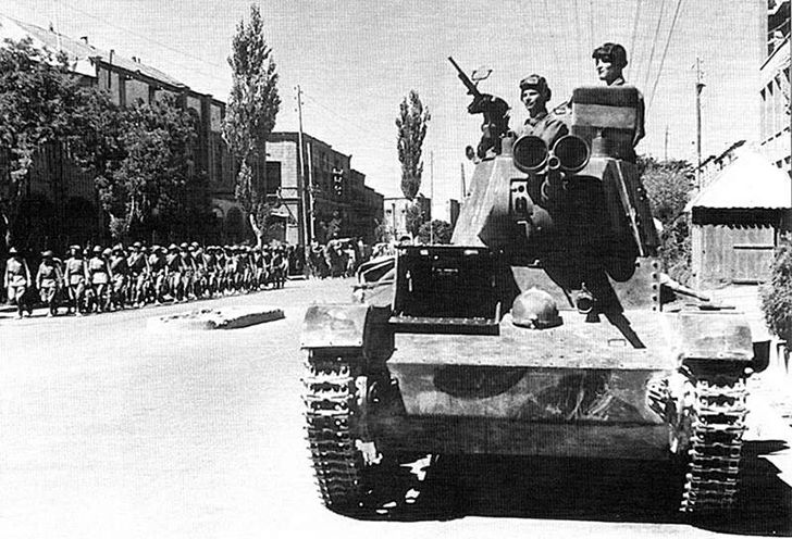 During World War II, the British and Soviets launched a joint invasion of neutral Iran.