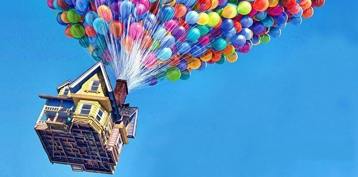 "Disney Pixar's ""Up"" Iconic Balloon Scene"