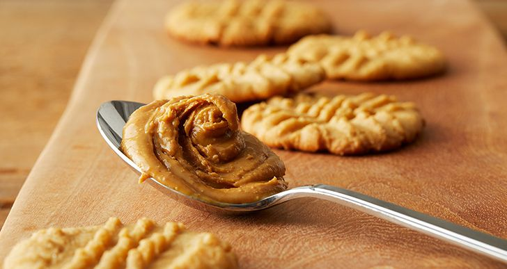 Americans eat millions of pounds of peanut butter.