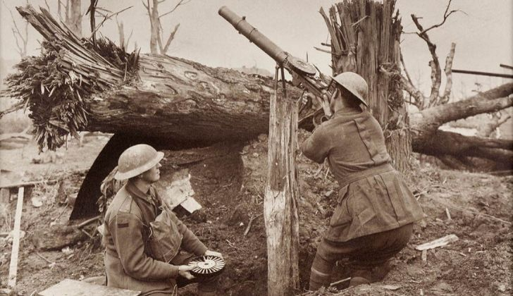 Australian military firing shots at emu's