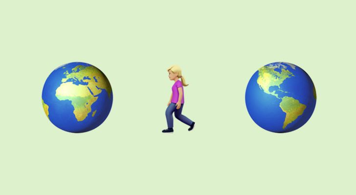 The average person walks the equivalent of five times around the world in their lifetime.