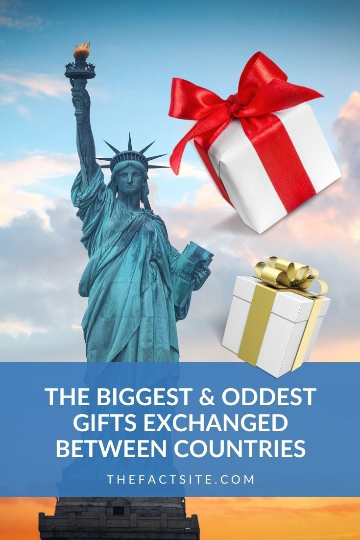 The Biggest & Oddest Gifts Exchanged Between Countries