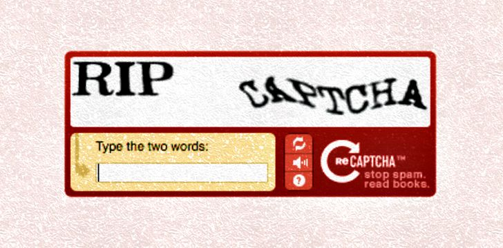 CAPTCHA is a long acronym.
