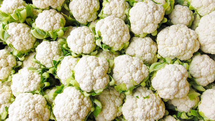Cauliflower comes in multiple colors.