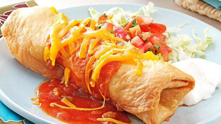 "Chimichanga means ""thingamajig."""
