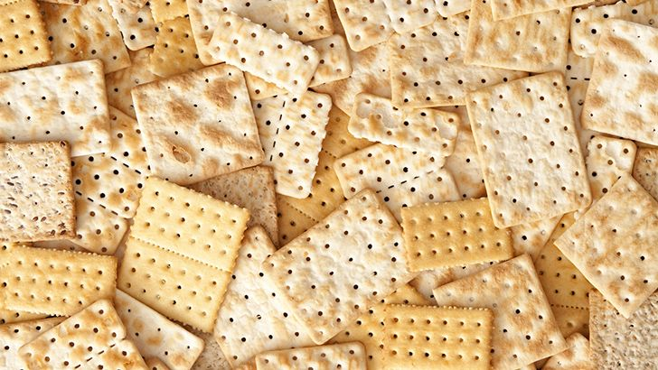 Crackers have holes in them for a reason.
