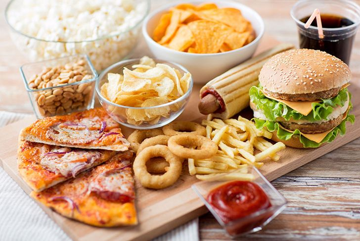 Eating fast food regularly has the same impact on the liver as hepatitis.