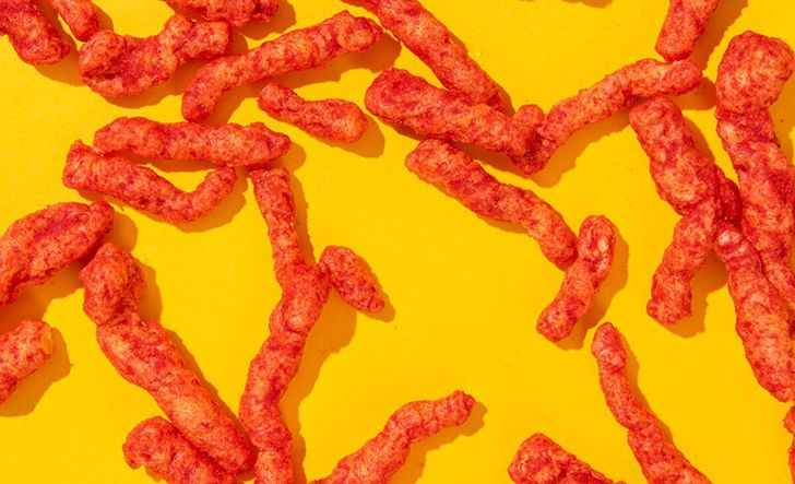 Flamin' Hot Cheetos were invented by a janitor.