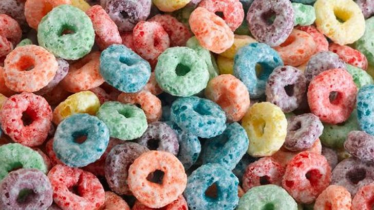 Froot Loops are all the same flavor.