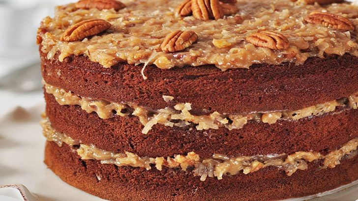 German chocolate cake has nothing to do with Germany.