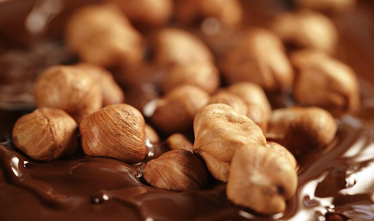 One in four hazelnuts end up in Nutella.